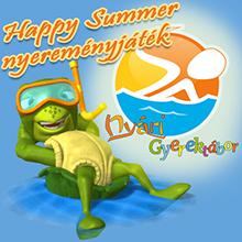 Happy Summer nyereményjáték